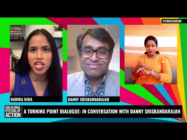 A Turning Point Dialogue: In Conversation with Danny Sriskandarajah  (Spanish)