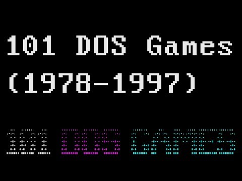 101 MS DOS GAMES (1978-1997)