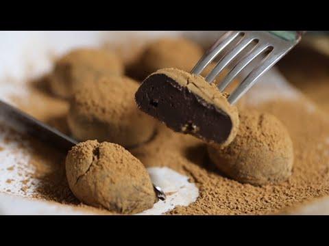 (SUB) 연유로 쫀득한 초콜릿 만들기 Milk Chocolate