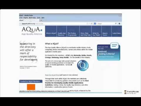 Dive into AQUA - Does your app pass the test?