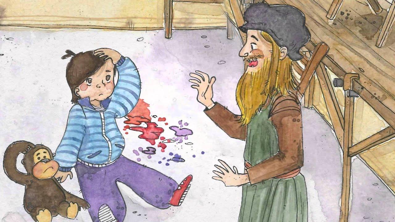 Le Avventure di Sbuccia e Puntino - Chi era Leonardo Da