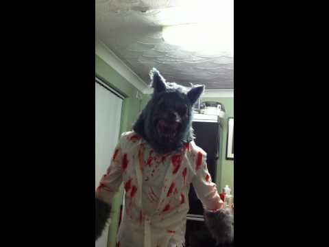 Scary werewolf costume & Scary werewolf costume - YouTube