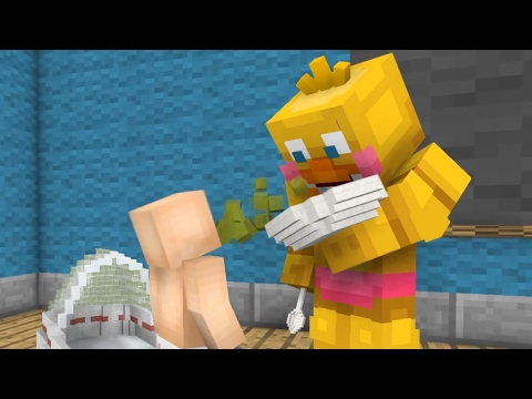 FNAF  Monster School: Baby Sitter! - Minecraft Animation