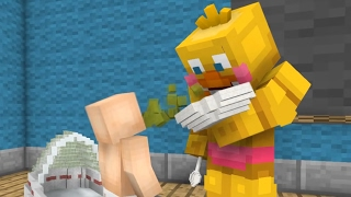 - FNAF Monster School Baby Sitter Minecraft Animation