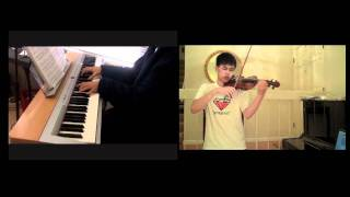 Christina Aguilera - Reflection from Mulan (Violin, Piano) Ft. Zorsy