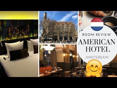 American Hotel AMSTERDAM Standard Room REVIEW & Breakfast!