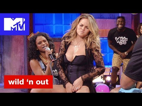 Chrissy Teigan Gets Touchy Feely For Michael Strahan 'Bad & Booty-est Moments'   Wild 'N Out   MTV