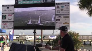 Sperry Charleston Race Week 2017 - Ed Baird Video Debrief for Saturday