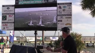 Sperry Charleston Race Week 2017 - Ed Baird Video Debrief for Saturday