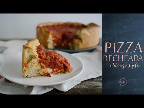 DEEP PIZZA {Pizza Recheada do Estilo de Chicago}