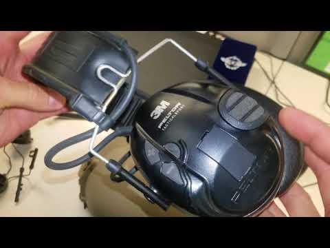 Peltor ARC rail helmet conversion 3M Peltor install