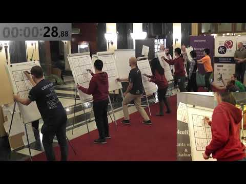 WSC & WPC 2018 - Sudoku world record with details