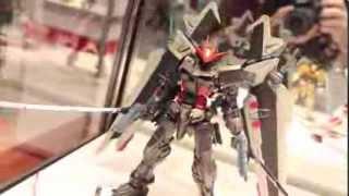 Master Grade MG Gundam Astray Noir at C3 x Hobby 2013