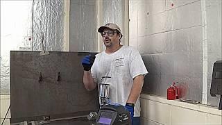 Tack Welding Steel With A Mig Welding Machine