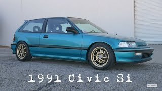 My 1991 Civic Si Build - B16A JDM Inspired