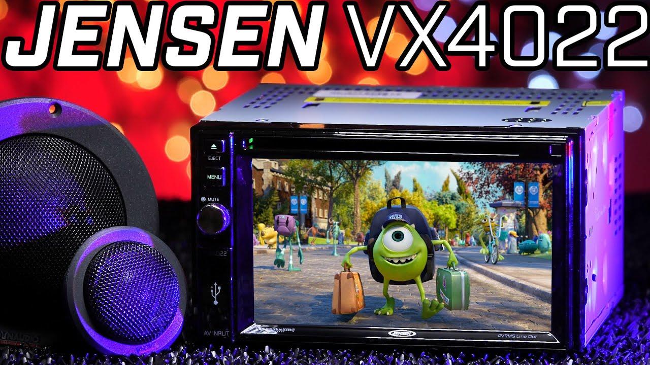 Jensen VX4024 6.2 Double DIN A//V Receiver