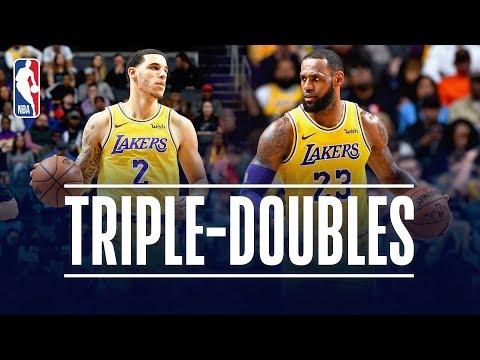 LeBron James & Lonzo Ball Both Record TRIPLE DOUBLES | December 15, 2018