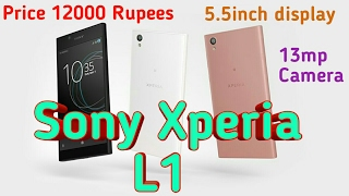 Sony Xperia L1 a budget phone by Sony Launch