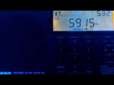 Zambia NBC Radio - 1 5915 kHz (20/05/17) Lusaka,Zambia
