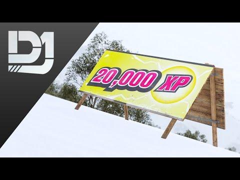 Forza Horizon 3 Blizzard Mountain - All 25 XP Bonus Boards Location Guide
