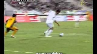 هدفين الزمالك (ميدو)-(حازم امام) فى القادسيه الكويتى ...