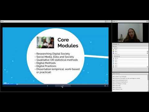 Study MA Digital Media & Society at the University of Sheffield