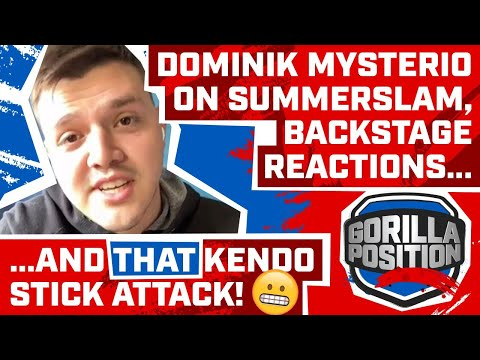 Dominik Mysterio Interview: On debut, working w/ Seth Rollins, backstage reaction, facing his dad!