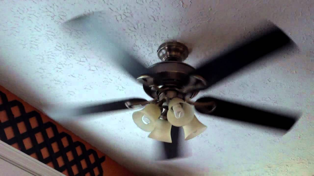 52 hunter augusta ceiling fan remake youtube mozeypictures Images