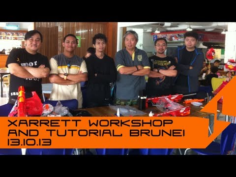 Xarrett Installation Tutorial in Brunei 13.10.13