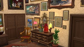Квартира вдовы антиквара / Speed Build Sims 4 / NO CC /