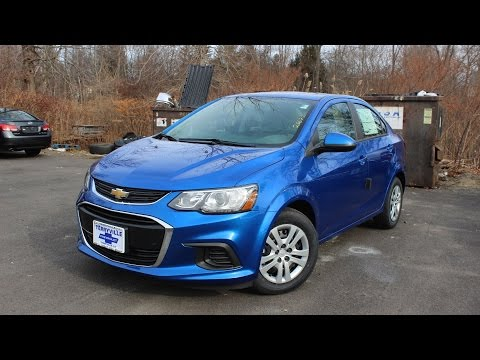 2017 Chevy Sonic LS Sedan: First Person In Depth Look