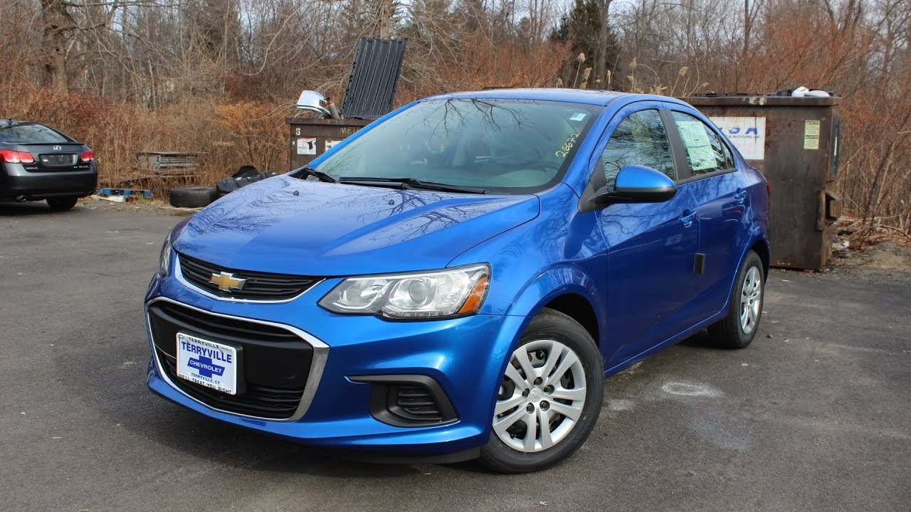 2017 Chevy Sonic Ls Sedan First Person In Depth Look