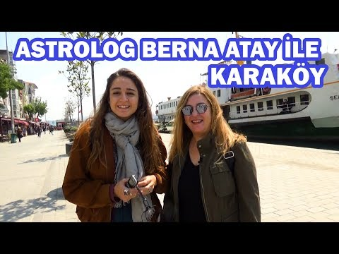 Istanbul Old City TV - Astrolog Berna Atay ile Karaköy -  Episode 8
