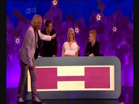 Holly Willoughbys birthday on Celebrity Juice - YouTube