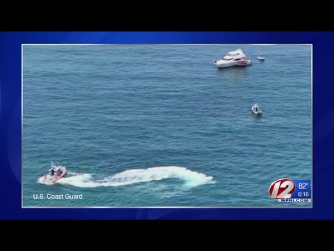 Joe Trillo's boat strikes rock, takes on water off Charlestown