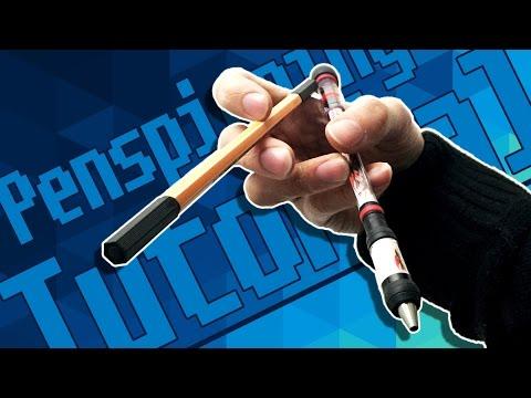 Penspinning Tutorial für Anfänger - THUMBAROUND [Linkshänder | Rechtshänder][Deutsch]