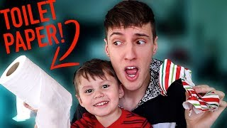 Giving My 3 Year Old Nephew Weird Christmas Presents