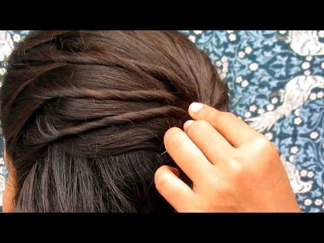 PARTY HAIRSTYLE OUT GOING HAIRSTYLE TUTORIAL IN 5 MINUTES  STYLE HAIR