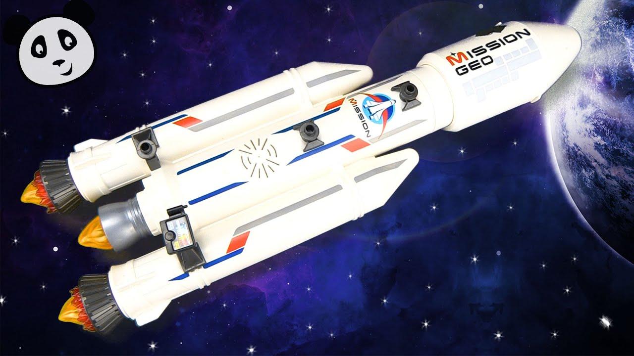 Playmobil City Action Weltraumrakete Mit Basisstation Spielzeug Ausgepacktangespielt
