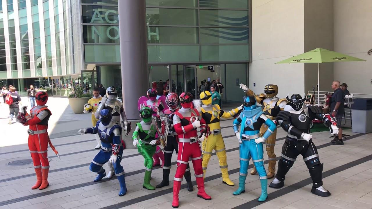 Big Power Morphicon Cosplay Shoot Power Rangers Super Sentai More 2018