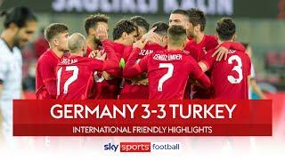 Turkey stun Germany in injury time! | Germany 3-3 Turkey | International Friendly Highlights