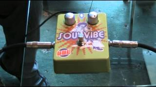 a review of the bbe soul vibe guitar pedal