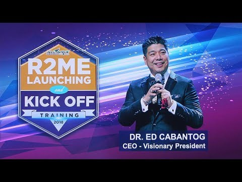 R2ME Launching by Doc Ed at AIM Global Kick Off Training 2018
