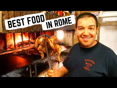 What to eat in ROME, ITALY | Roman FOOD TOUR - Pizza, Rome street food, Pasta | Italian FOOD