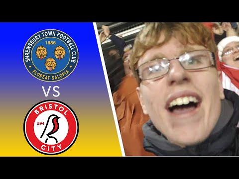 UNREAL SCENES!!! | SHREWSBURY VS BRISTOL CITY (FA Cup 3rd Round Replay)