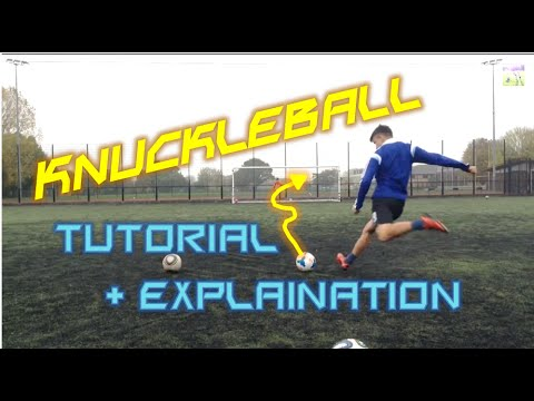 Knuckleball Tutorial + Explanation | How to shoot like CR7