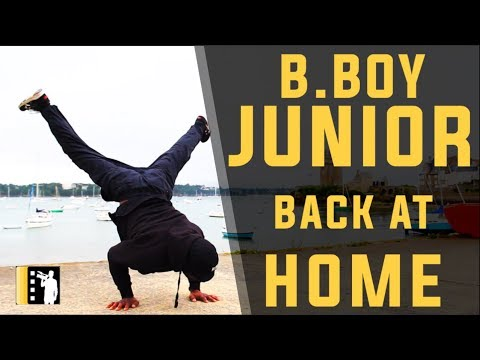 "🇲🇫🏆BBOY JUNIOR ""Dancing his way back home"" - Episode 9 - TRONCHE DE VIE DOCUMENTARY"