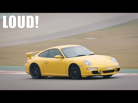 LOUD iPE Porsche 997 Carrera S FLAT OUT on TRACK
