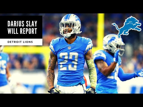 Darius Slay WILL REPORT To Camp! BREAKING NEWS: Detroit Lions Talk