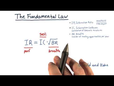 The fundamental law